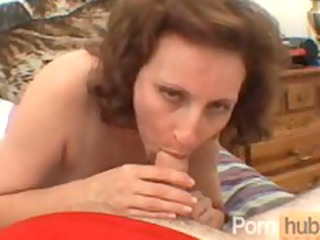 mature blow job