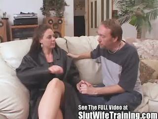 rebecca acquires a slut wife cum tasting 607