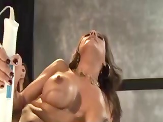porn superstars lisa ann and francesca le have a