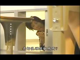 japanese large tit milf teacher sex with student