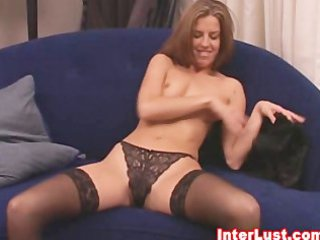 sexy wife in hawt underware and stockings