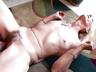 blonde granny blowjobs and hardcore fucking