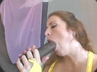 sweetheart sucks biggest cock for mouthful of cum