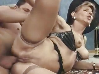 horny mother i takes stylish anal gaping