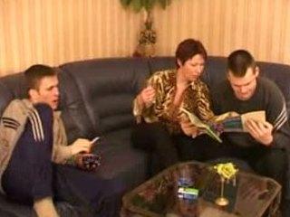 hawt russian mom takes