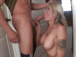 milf sucks penis in advance of bubble pleasure