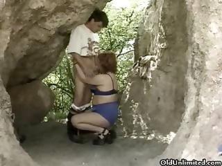 naughty aged wench receives slutty scuking part10