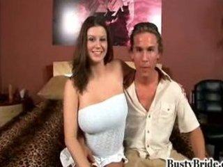 please bang my wife-sara stone breasty bride