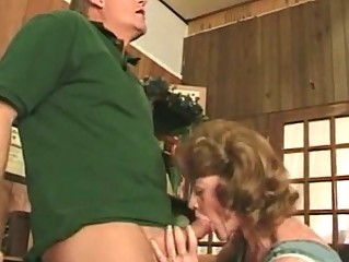 highly drilled mature wench