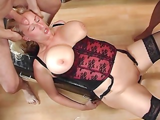hard group fuck with mother i