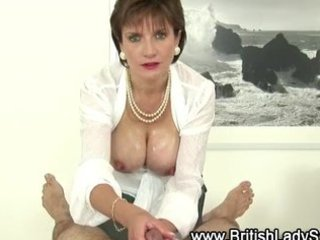 breasty mature lady sonia gives tugjob