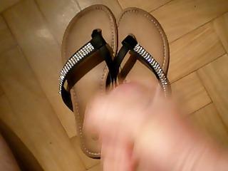 cum on recent wife flip flop