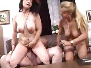 breasty matures sharing fat man