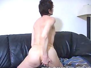 oldie jerk off teacher has gone all the way nude