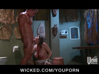 horny big-tit brunette hair mother i drilled in