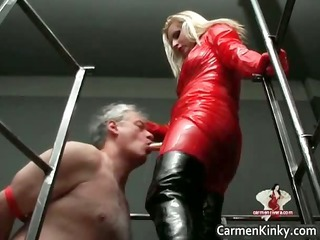 two hawt horny hot body latex milf chicks part7