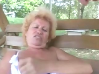 hairy granny effie anal outdoor