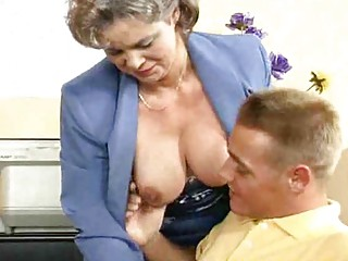 breasty mommy acquires screwed in the office