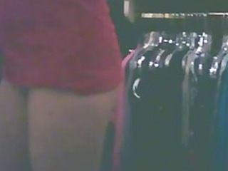 wife caught changing