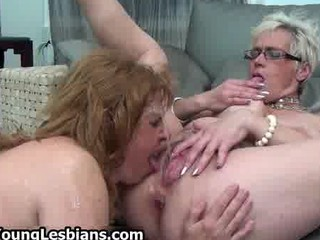 concupiscent aged wife squirts all over her part3