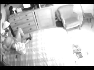 my mama in bed room caught masturbating