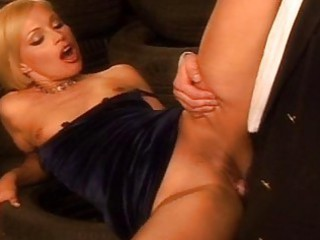 cheating wife plays with large and bulky dongs