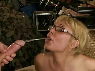 older couple pissing and fucking