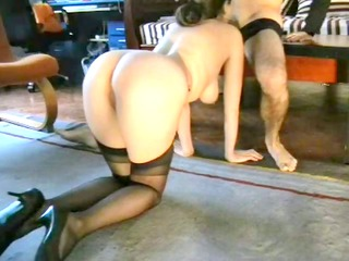 pervy wife playing uncomplaining part