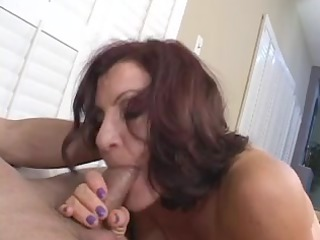 hawt mature brunette hair hair masterfully sucks