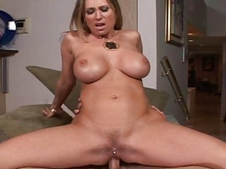 blond mother i with large boobs receive anal fun