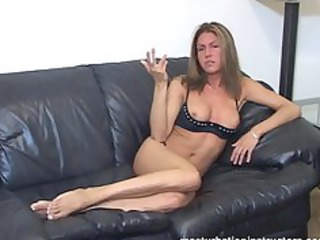 smoking mother i flashes breasts as she is longs