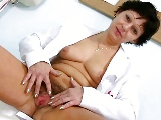 hawt d like to fuck in nurse uniform stretching