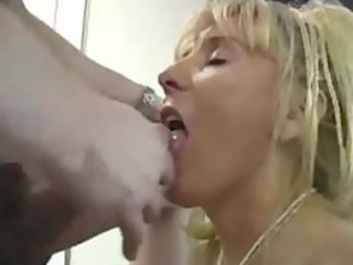 aged busty cougar fucks younger boy
