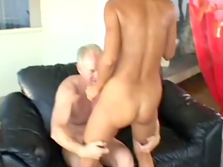 older blond wife acquires butt fucked in front of