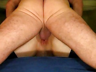mature pair garter booty lick creampie