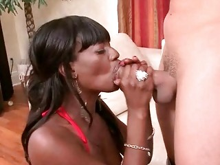 classy ebony d like to fuck sucks big meat pole