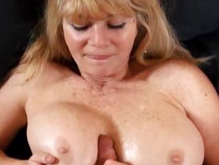 big tit aged milf copulates a juvenile shlong