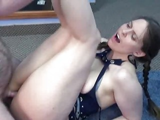breasty natasha is taking rod in her mature pussy