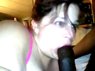 older chubby whore giving head and fucking in the