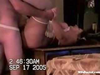 wife in nurse outfit fucked at home