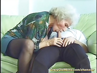 his mamma is very horny