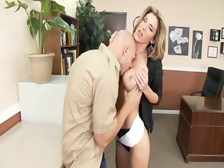 kalya paige is an executive who receives hammered