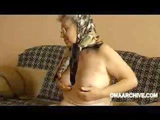 granny gets nude