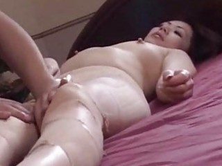outstanding japanese aged hottie engulfing