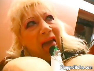busty d like to fuck rides a bottle like insane