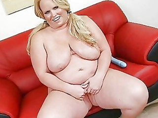 playful tattooed massive momma with large boom