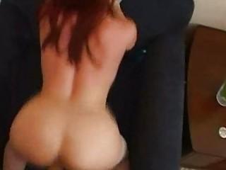 redhead mamma enjoys doggystyle!