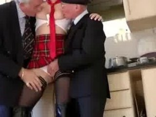 older nylons male foreplay threesome
