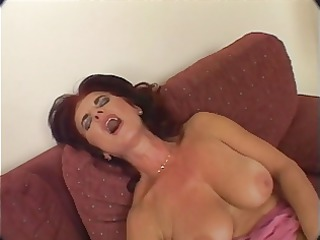 hawt mature granny toying and banging