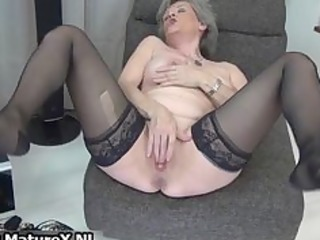 hot granny in darksome nylons likes part0